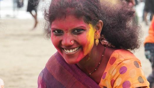 Mokre zakończenie Ganesha Chaturthi