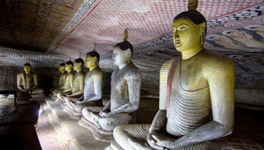 Dambulla, czyli świątynie wykute w jaskiniach