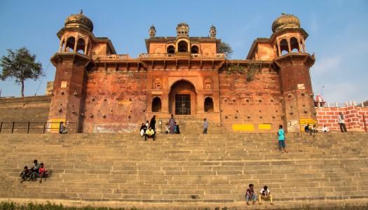 Kamienne ghaty w Waranasi