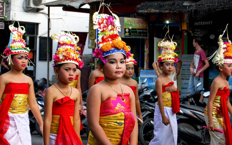 Ubud Bali people (2)
