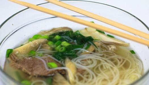 Zupa inspirowana kuchnią Azjatycką