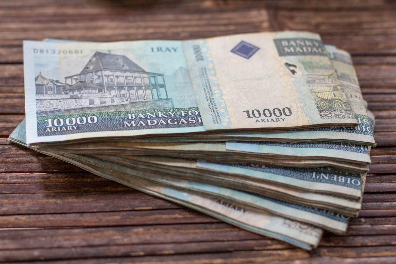 Madagascar money ariary