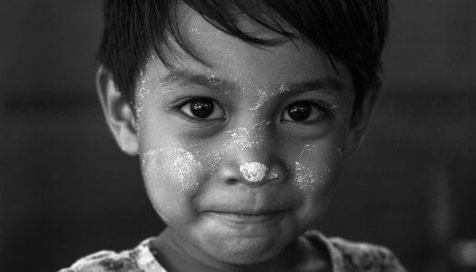 Birma – zdjęcia black & white