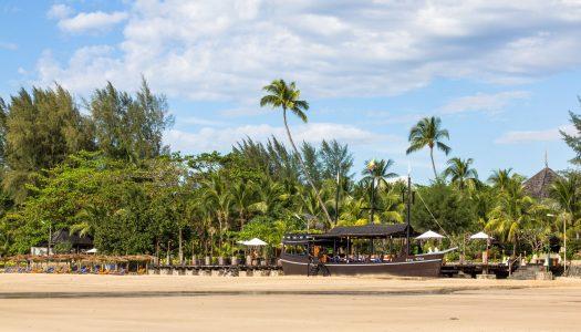 Miasteczko i plaża Ngapali