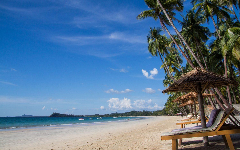 Ngapali plaża