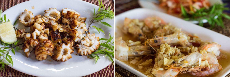 Ngapali jedzenie seafood