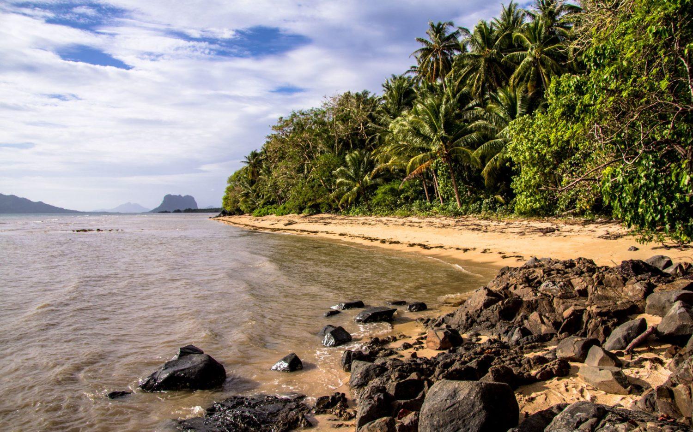 plaże na Palawan Filipiny