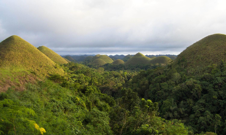 Chocolate Hills Bohol Czekoladowe Wzgórza