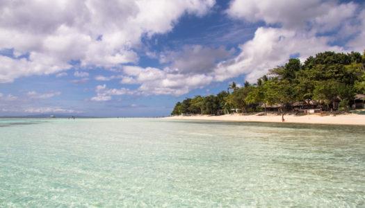 Dumaluan Beach – najpiękniejsza plaża na Panglao