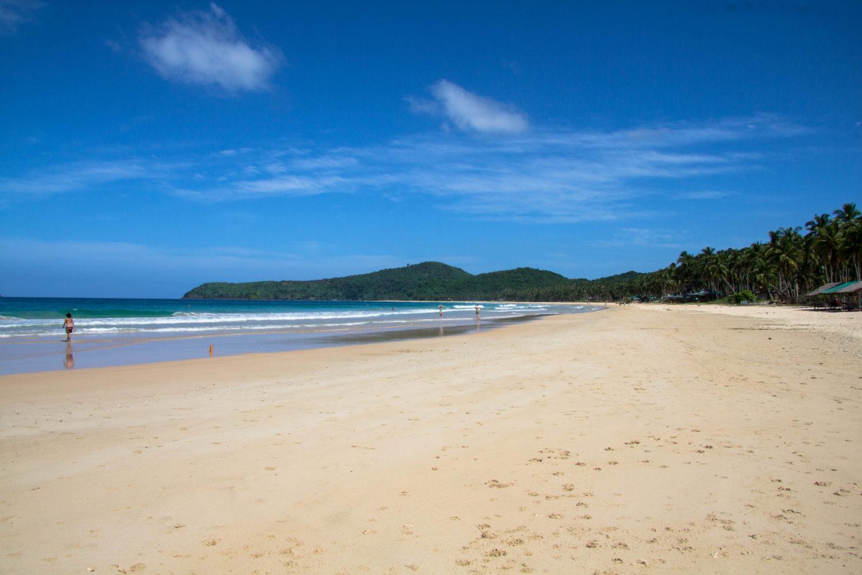 Nacpan beach plaże El Nido