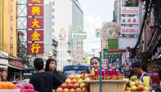 Chinatown w ciągu dnia