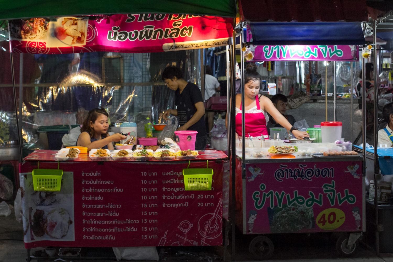 Kanchanaburi street food