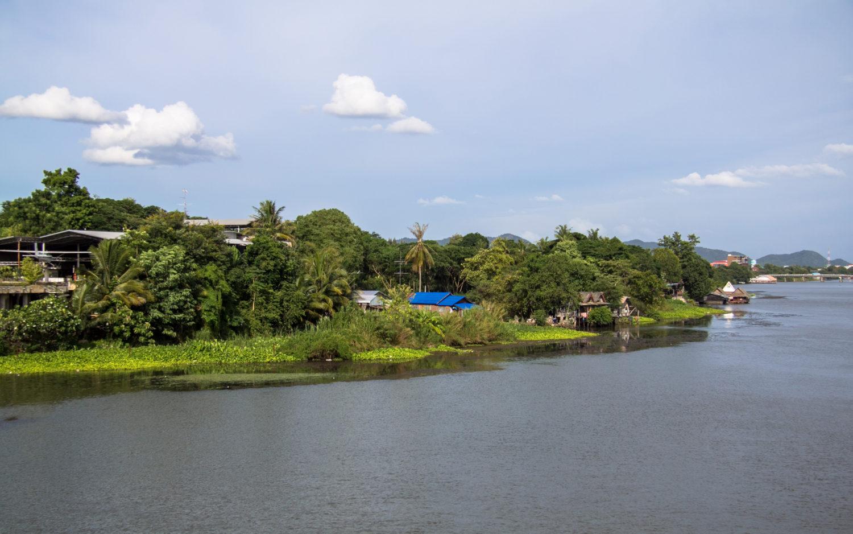 Kanchanaburi Kwai river