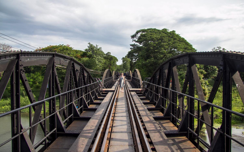 Kanchanaburi most na rzece Kwai