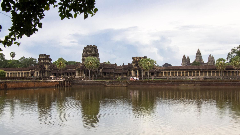 Angkor Wat widok z daleka